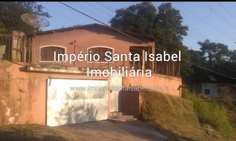 [Vende casa com piscina 380 m2 em Santa Isabel Chacara Boa Vista -km55- Aceita Permuta]