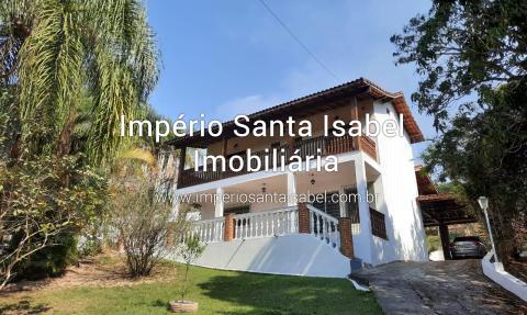[Vende Chácara 1900 M2  com piscina vista para represa no bairro Chácaras  Panorama em Santa Isabel-SP  ]