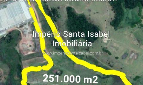 [Vende Area Indusrtrial Na Rodovia Presidente Dutra Km 184 Por R$ 20.080.000,00]