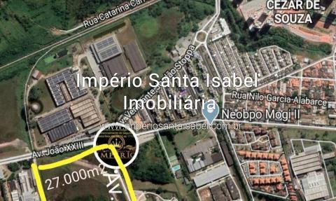 [Vende Uma área 27.000 m2 de frente para Av.-Pres-Castelo Branco-Mogi das Cruzes-SP ]